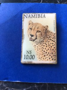 26.francobollo cheetah Namibia