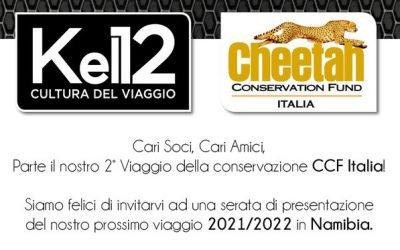 Riprendiamo con le attività del Cheetah Conservation Fund Italia